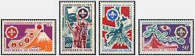 Timbres Scoutisme Niger 245/8 ** lot 14389