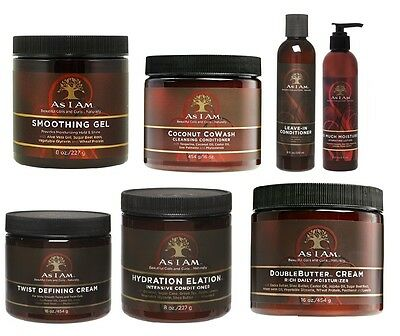 As I Am Beautiful Curls and Coils Mouisturising Hair Care Hair Styling Products