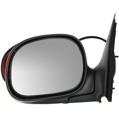 Mirror For 1997-2003 Ford F-150 With Signal Light In Housing Paintable Left