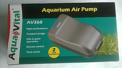 Aquavital Av360 Aquarium Air Pump 9325136057010