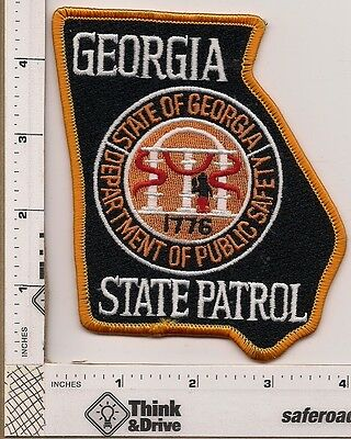 Georgia State Patrol.Georgia. Shoulder patch.