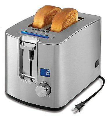 Slice Toaster Silver Tr1280s