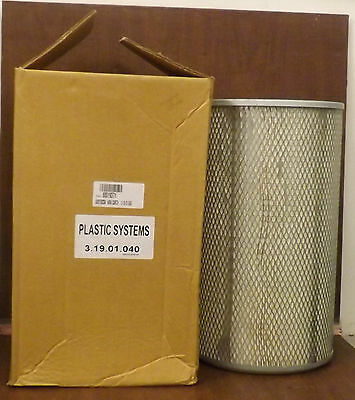 1 New Plastic Systems 3.19.01.040 Filter Element  ***make Offer***
