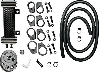 JAGG DELUXE OIL COOLER SYSTEM Fits: Harley-Davidson XL1200T Super Low Touring,FL