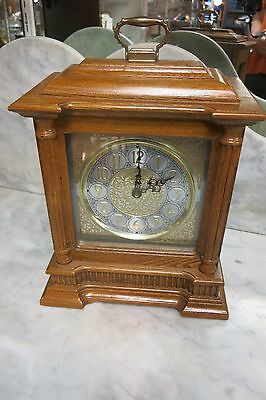 Howard Miller Albany 635-126 Mantle Clock, Oak Yorkshire Finish
