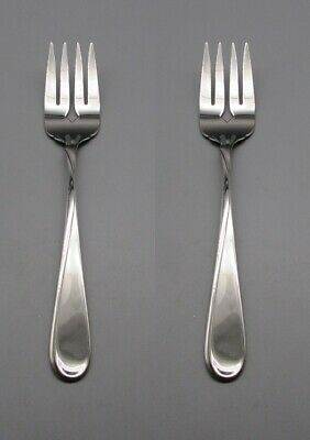 USA SET OF TWO Oneida Stainless AMERICAN FREEDOM Serving Forks