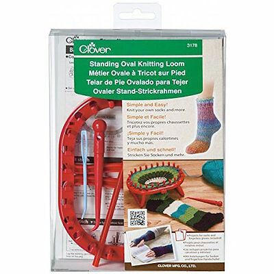 Clover 3178 Standing Oval Knitting Loom Craft NEW!