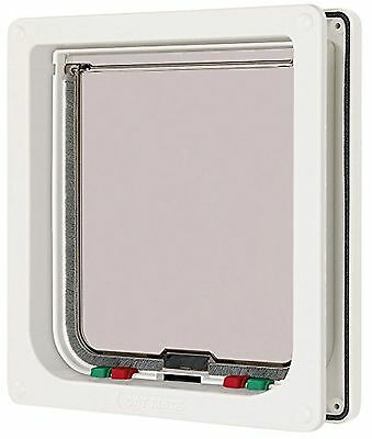 Cat Mate Large 4-Way Cat Flap white