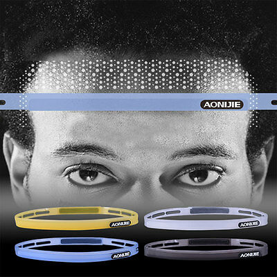 Sports Silicone Head Band Belt Headwear Sweatband Running Cycling Gym Exercise