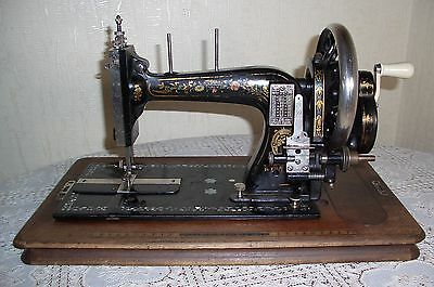 Antique vintage Clemens Müller Dresden sewing machine 1870