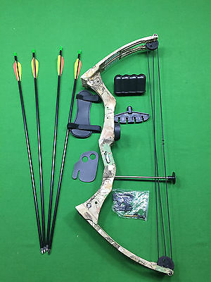 Kids Compound Bow Kit 15-20lbs (2 colours)