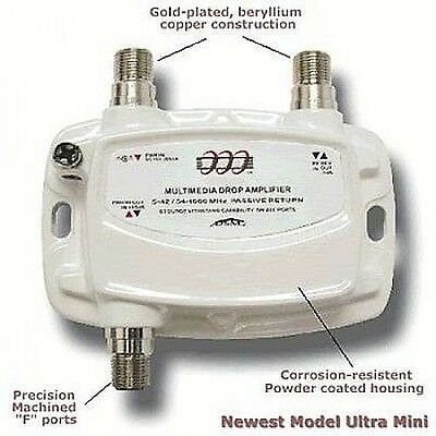 PCT Multimedia Drop Amplifier PCT-MA2-M Small White USED SR16
