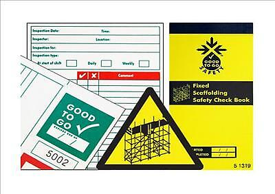 Good 2 Go Inspection Record Check Books Tags Kits Weekly Daily all activities