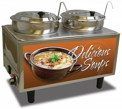 Soup Station Warmer 51072S from Benchmark
