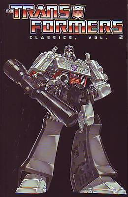 Transformers Classics volume 2 trade paperback Re-Mastered Re-Coloured