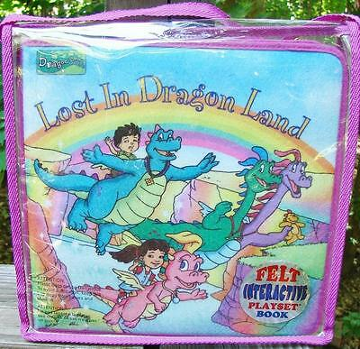 Dragon Tales Felt Playset LOST IN DRAGON LAND Soft Play Toy Book Incomplete