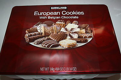 Kirkland European Cookies with Exquisite Chocolate 1.4kg box