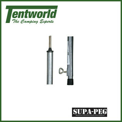 Supa-Peg 230cm Telescopic Galvanised Steel Tent Pole