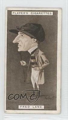 1925 Player's Racing Caricatures Tobacco Base #25 Fred Lane MiscSports Card 1m8