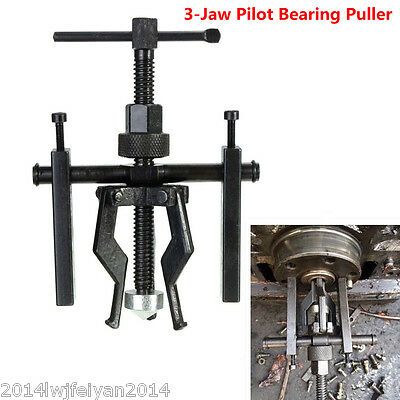New 3 Jaw Pilot Bearing Puller Bushing Gear Extractor Installation Removing Tool