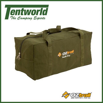 OZtrail Canvas Duffle Bag - Extra Large - 150 litres