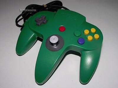 Genuine Nintendo 64 N64 Green Controller Refurbed Toggle