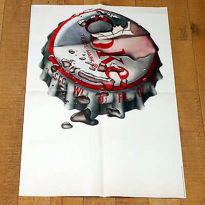 MICHAEL ENGLISH COKE poster manifesto affiche Advertising Vintage Stopper Drink