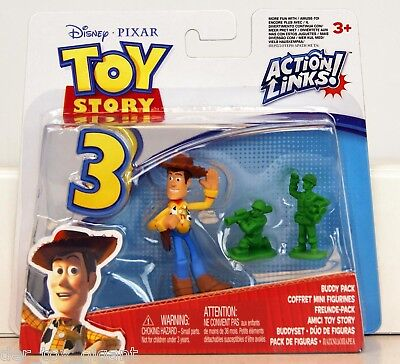 Toy Story 3-Action Links-Buddy Pack - Woody & Soldaten