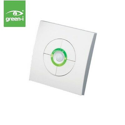 Green-I GI2DPC Stylish Double Dimmer Switch With Movement Sensor C/W Remote Cont