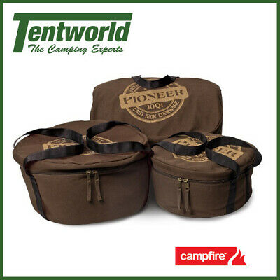 Campfire Pioneer Canvas Camp Oven Bag - 10 Quart