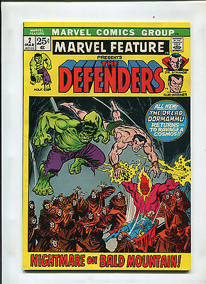 Marvel Feature #2 (7.0) 2Nd Appearance Of The Defenders! Key