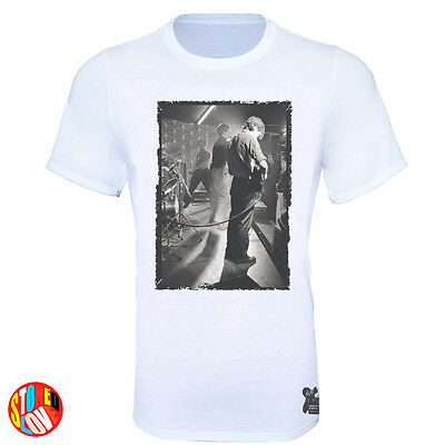 Joy Division - Ian Curtis (rare image) 1979 Bowdon Vale Youth Club T-Shirt #jd2