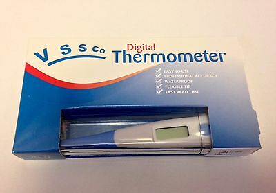 DIGITAL THERMOMETER Veterinary Sick Dog Pet OR Human