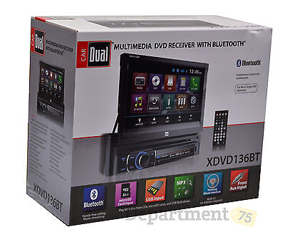 Dual Multimedia DVD Receiver With Bluetooth