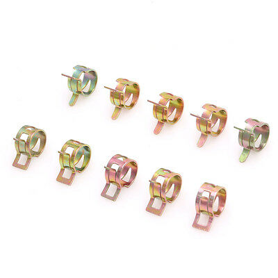 10Pc Spring Clip Fuel Oil Water Hose Pipe Tube Clamp Fastener 12mm/0.47 inch New