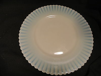 Cremex Petalware Depression Glass Two Dinner Plates