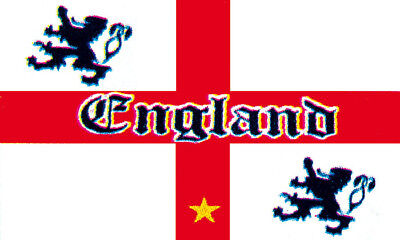 - Fahne Flagge Flag - Old England - Löwen Lions UK / 150 x 90