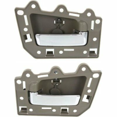 Jeep Grand Cherokee 4 Piece Set Inside Front Rear Beige Chrome