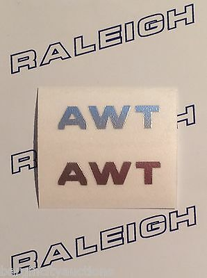 RALEIGH CHOPPER REPLACEMENT GEAR KNOB DOMED DECAL IN BLACK /& CHROME.