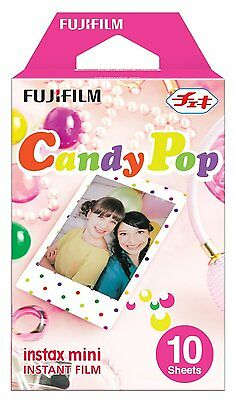 Fujifilm Instax Mini Candy Pop instant Film (Pack of 10)