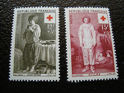 FRANCE - timbre yvert et tellier n°1089 1090 n** (A25) stamp french