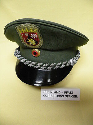 German Corrections officers Hat. Rhineland- Pfatz