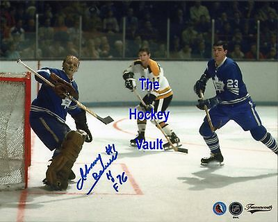 d7fababe99b JOHNNY BOWER TORONTO MAPLE Leafs SIGNED 8X10 w  HOF 76 NEW ...