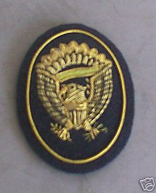 Officers Hardee Hat Badge, Large, Civil War, New
