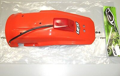 Rear Fender w/ Taillight 85-00 Honda XR600 R Mud Guard Plastic (See Notes) a97
