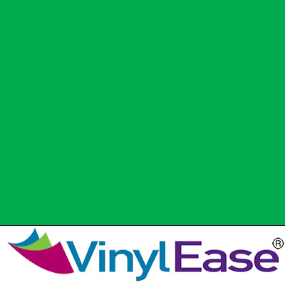 One 12 inch x 40ft Roll Glossy Light Green Permanent Craft and Sign Vinyl V0446