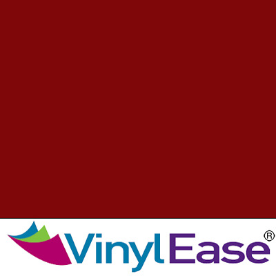 One 12 in x 40 ft Roll Glossy Maroon Permanent Craft and Sign Vinyl V0461