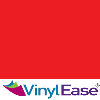 One 12 inch x 40ft Roll Glossy Red Permanent Craft and Sign Vinyl V0443