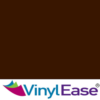 One 12 inch x 40ft Roll Glossy Brown Permanent Craft and Sign Vinyl V0452