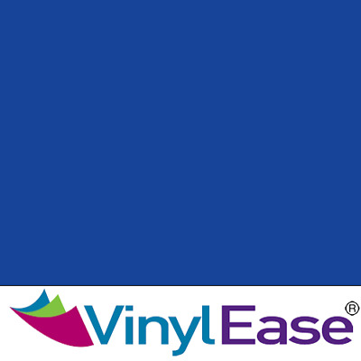 One 12 inch x 40ft Roll Glossy Blue Permanent Craft and Sign Vinyl V0453